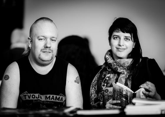 Mattias Elftorp och Stef Gaines. Bild och ©: Makan E-Rahmati